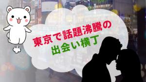 東京で話題沸騰の出会い横丁
