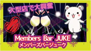 大型店で大興奮『Members Bar JUKE(メンバーズバージューク)』