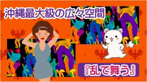 沖縄最大級の広々空間『乱で舞う』